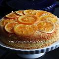 staub で オレンジのアップサイドダウンケーキ♪♪ by hannoahさん