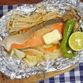 ちゃんちゃん焼き風 鮭の味噌バターホイル焼き