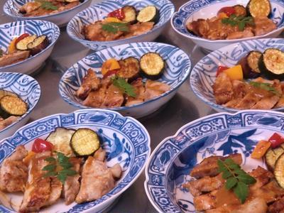 豚ロース肉の赤味噌ハニーマスタード焼き