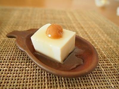 ■スパイス大使レシピ■ヘルシーな栄養満点スウィーツ★梅はちみつ豆腐