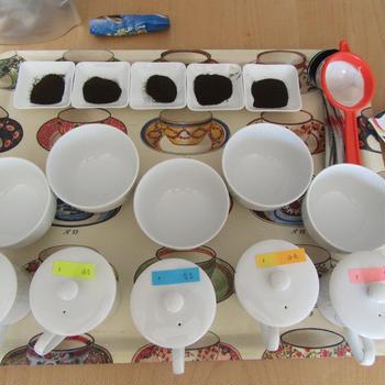 グレイス紅茶ギャラリーさんでワタラッパン教室&紅茶の劣化。(20180317)