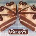 チョコレート(ココア)のショートケーキ【デコレーションケーキ】☆バレンタイン・誕生日に♪ by パンジーAさん