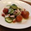 たこときゅうりとミニトマトのサラダ♪タイム風味