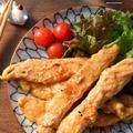 ♡こくうま♡柔らかジューシー♡鶏のささ身deオイマヨ和え♡レシピあり♡