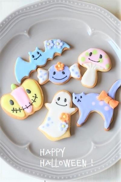 ハロウィンアイシングクッキー【suipaモニター】