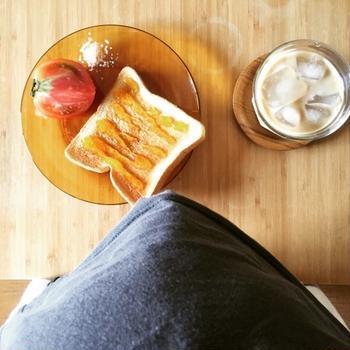 溜まった朝食たち