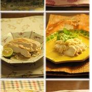 暑いので 楽チン☆手放し蒸し鶏10recipes♪ と 変わってかわいい 変わらずかわいい。