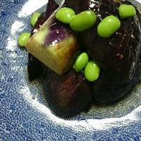 ピリ辛茄子の揚げ漬け(レシピ)