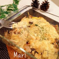 コク❤︎豆腐味噌マヨソース✨鶏・葱・茸焼き by Mariさん