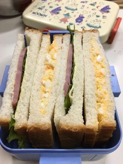 サンドイッチh♡息子弁