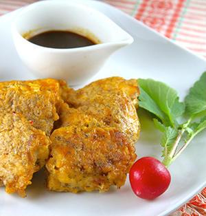 なぜ鶏むね肉はパサつくのか?しっとりジューシー♡鶏むね肉のスパイシーピカタ《簡単★節約★常備菜》