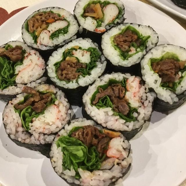 恵方巻き ブルコギ巻き寿司