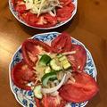 毎日食べたいサラダ^o^セロリ・キュウリ・玉ねぎ・トマト