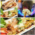■ヘルシー和食ランチ【焼き茄子と鯵の干物でサッパリと^^】