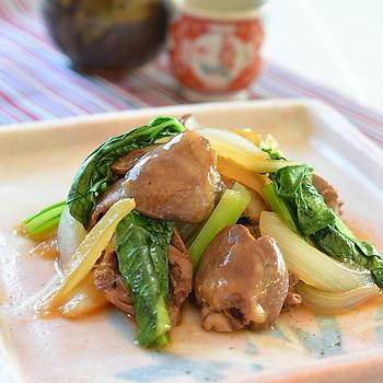 料理のための清酒で作る、ふっくら鶏ハツの甘辛煮♪