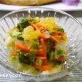爽やか♪白菜と夏蜜柑のサラダ