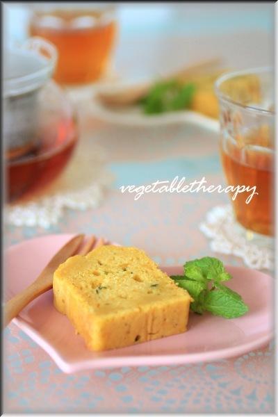 マクロビスイーツ♪かぼちゃお豆腐ケーキ