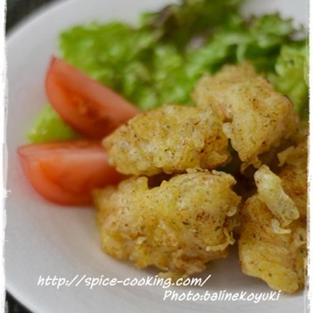 ハウス味付けカレーパウダーで簡単!タラの天ぷらカレー風味