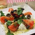 おうちパーティーに超~!簡単トマトとモッツァレラのカプレーゼ by とまとママさん