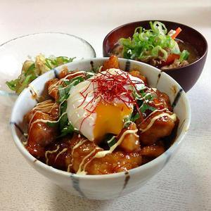 鶏もも肉でコクうま!ガッツリ食べたい「照り焼きチキン丼」