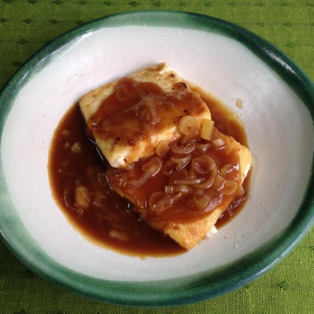 豆腐ステーキ*カレーソース