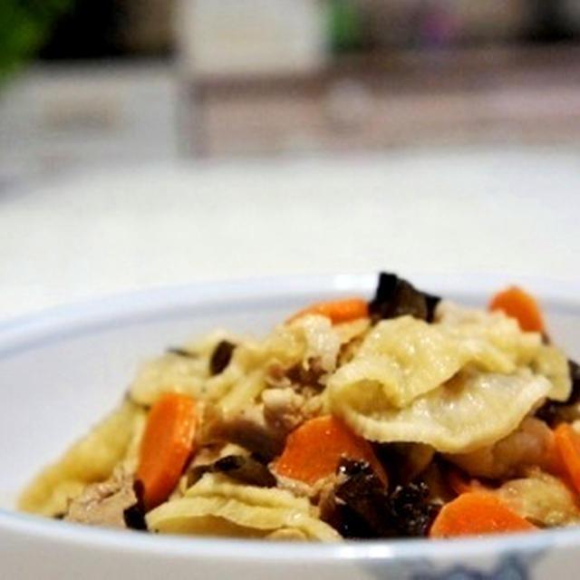 豚バラ肉と干し大根の炒め煮☆☆