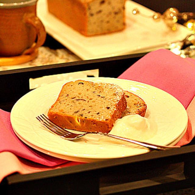 Azuki Bean Pound Cake