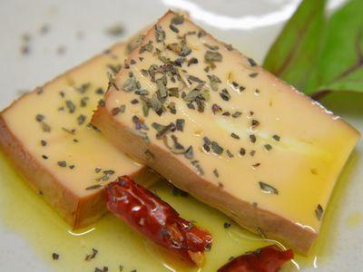 豆腐の冷燻製 オイル漬けの作り方