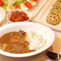 694円*ビーフカレー定食【美味しくなる手順2ステップ】