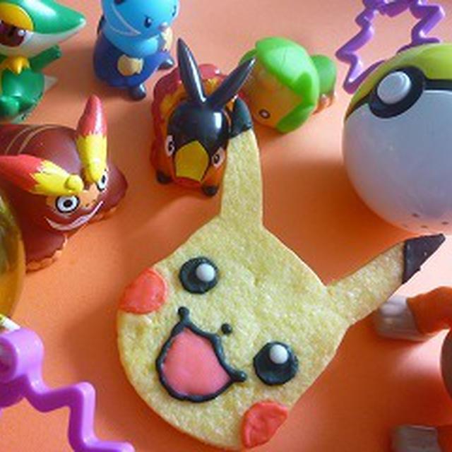 キャラクッキー ポケモンピカチュウのクッキー