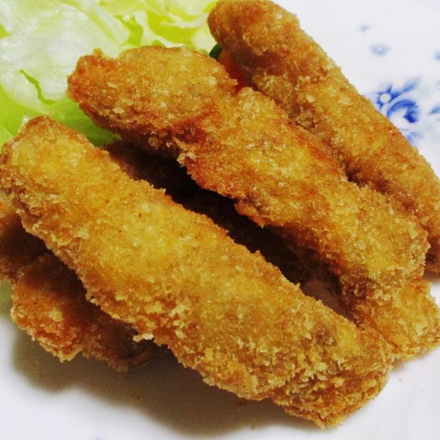 白身魚のカレー風味フライ<ガラムマサラで簡単>