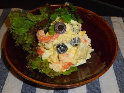 海老のタルタルポテトサラダ(レシピ)