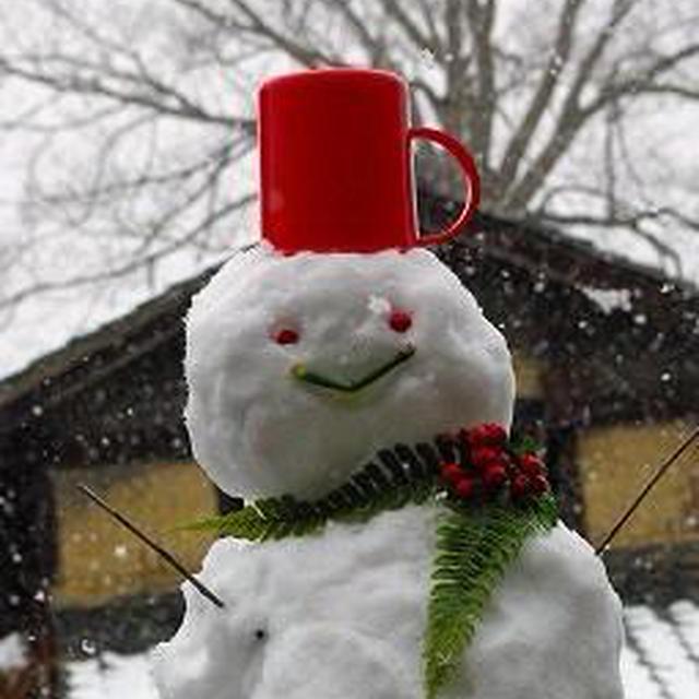 雪が降る町で* 大人のホットカフェモカ☆