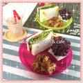 BBQの後の楽チン キッズご飯☆コロッケサンド&コロッケパン耳グラタン