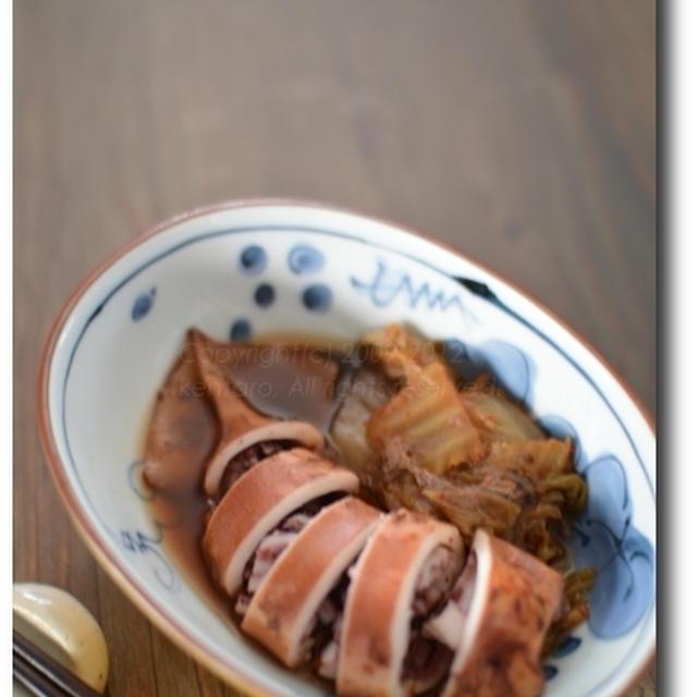 イカとキムチの姿煮