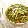 イカと胡瓜の冷たいスープ~ネングッ~