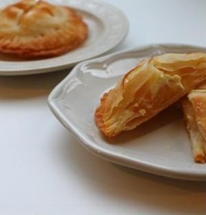 餃子の皮でアップルパイ