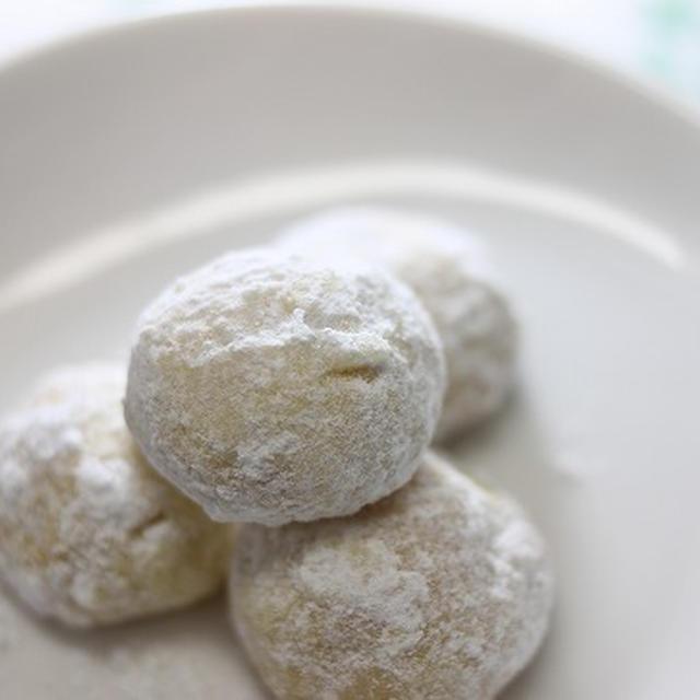 ★レシピ★ へーゼルナッツのコロコロクッキー