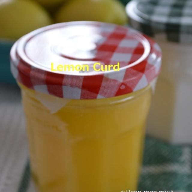 国産レモンでレモンカード作りました♪