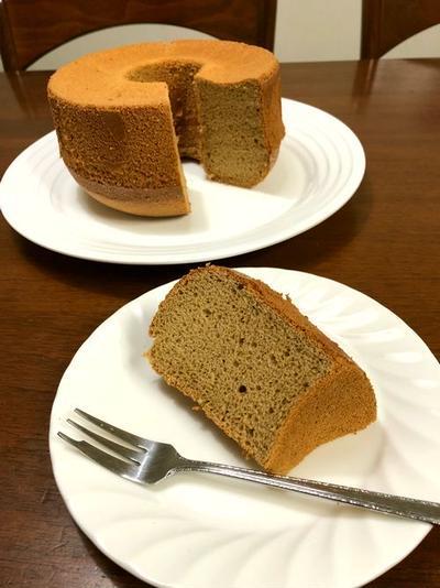 【アールグレイ】紅茶のシフォンケーキ♪