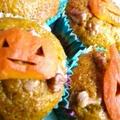 ハロウィン♪南瓜のカップケーキ