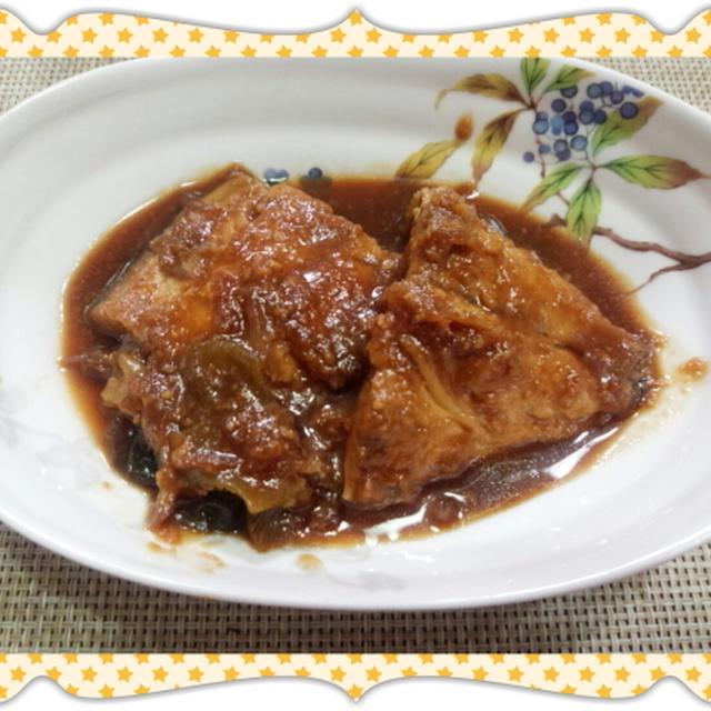 鯖の味噌煮(レシピ付)