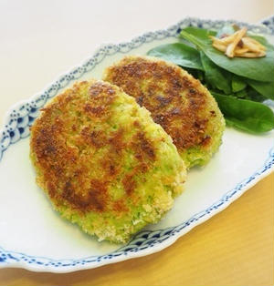 【レシピ】枝豆とアボカドのコロッケ
