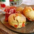 ヘルシー!朝のチーズとトマトのハービースコーン♪ by tamaoさん