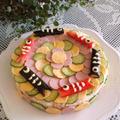 こいのぼりのお寿司ケーキ♪こどもの日レシピと動画