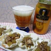 サバ缶と大根の魯肉飯風煮込み