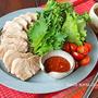 炊飯器でとろとろ韓国ゆで豚ポッサム★2種のタレで・・