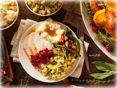 ハッピーサンクスギビング(感謝祭)★ターキーディナー