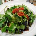 クリスマスツリーの点灯式 ~ ピータン豆腐 ~ 鯖のトマトスープ煮
