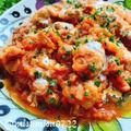 豚こまミートボールのトマト煮込み(動画レシピ)/Pork meatballs with Tomatoes.